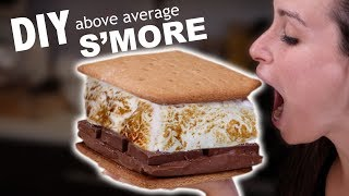 Download DIY ABOVE AVERAGE S'MORE Video