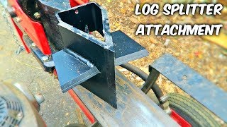 Download Log Splitter Attachment You Must Have! Video