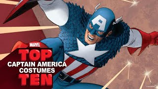 Download Top 10 Captain America Costumes | Marvel Top 10 Video