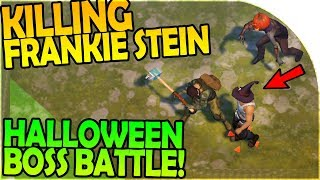 Download KILLING FRANKIE STEIN - HALLOWEEN BOSS BATTLE - Last Day On Earth Survival 1.6.5 Update Video