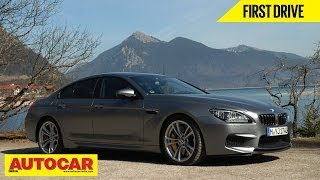 Download BMW M6 Gran Coupe | First Drive | Autocar India Video