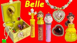 Download Beauty and the Beast Music Box Disney Princess Belle Lip Balms and Surprises Video