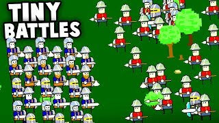 Download Tiny and IMPOSSIBLE! Most DIFFICULT Battle Simulator EVER MADE! (Tiny Battle Simulator Gameplay) Video