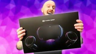 Download Oculus Quest Setup, Unboxing & Tips Video