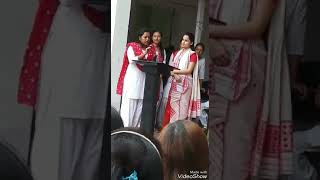 Download Assamese Actress Funny answers on her college election debate !! Video