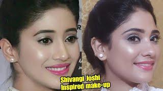 Download Shivangi joshi Inspired makeup || soft and glowy makeup || shystyles Video