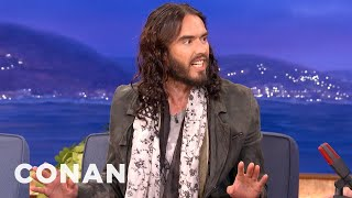 Download Russell Brand Really Knows That Charlie Sheen Fellow - CONAN on TBS Video