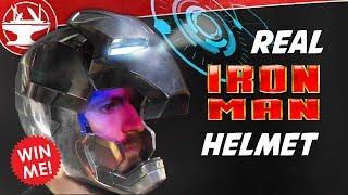 Download Metal Iron Man Helmet WITH DISPLAY! + GIVEAWAY Video
