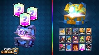Download Clash Royale OMG 3 LEGENDAIRE PACK OPENING EPIC ! Video
