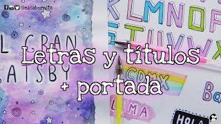 Download TÍTULOS PARA CUADERNOS, TRABAJOS y MURALES + PORTADA PARA CUADERNO 🤩 Video