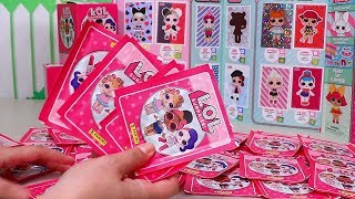 Download My Trick to Complete LOL Surprise Panini Sticker Book | Toys and Dolls Fun for Kids | SWTAD Video