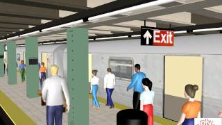 Download PTV Vissim and Viswalk: New York Subway Video