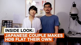Download Japanese couple makes HDB flat their own Video