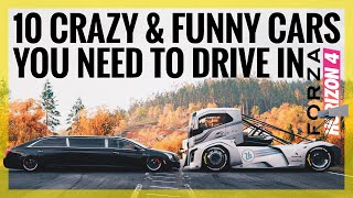 Download Forza Horizon 4 | 10 Crazy & Funny Cars You Need To Drive / Own (Funny Moments) Video