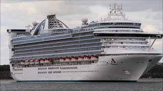 Download Princess Cruises fined $40M for dumping oily waste into sea Video