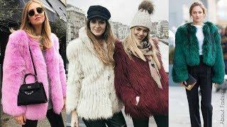 Download Cómo combinar ABRIGOS DE PELO | Tendencia 2019 Invierno Street Style Moda | OUTFITS peludos Video