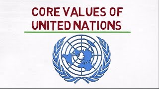 Download CORE VALUES OF UNITED NATIONS, INTEGRITY, PROFESSIONALISM, RESPECT FOR DIVERSITY/GENDER Video