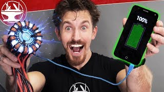 Download Real Arc Reactor (ionized plasma generator) Video