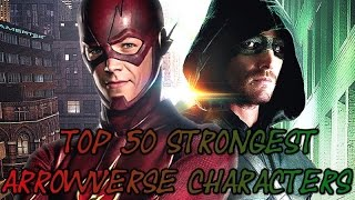 Download Top 50 Strongest DC TV Universe/Arrowverse Characters Video