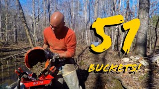 Download 51 Buckets of GOLD PAYDIRT! Featuring Gold Fox Lil' Monster Trommel Video