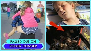 Download PASSED OUT ON ROLLER COASTER Video