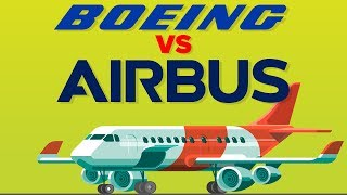 Download Boeing vs Airbus - How Do They Compare - Airplane Company Comparison Video