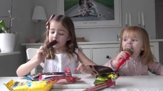 Download Hailey och Chloe testar årets nyheter från GB glassar sommar 2017 Video
