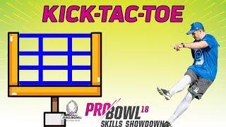 Download Kick-Tac-Toe: 2018 Pro Bowl Skills Showdown | NFL Highlights Video