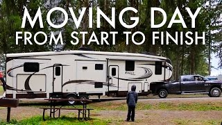 Download RV MOVING DAY from START to FINISH : RV Fulltime w/9 Kids Video