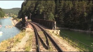Download Mountain Railroad - Train Driver's View - Telgart, Central Europe, SK Video