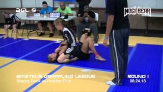 Download AGL 5 • Stacey Duck vs Heather Fine • Amateur Grappling League® Women's No-Gi Video