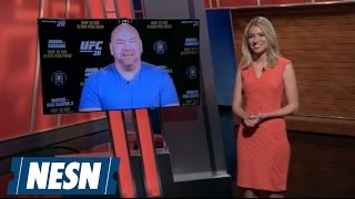 Download UFC 211: Dana White Discusses Stacked Card, Future UFC Fights Video