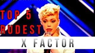 Download TOP 5 ANGRIEST CONTESTANTS ON X FACTOR!!! Video