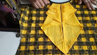 Download creative front neck designs cutting and stitching in hindi /katiyar sister Video