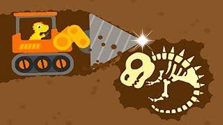 Download Dinosaur Digger 3 - The Truck Kids Game - Play Fun Dinosaur Digger Game For Kids Video