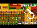 Download 22 Things I Wish I'd Known Sooner in Stardew Valley Video