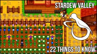Download 22 Things I Wish I'd Known Sooner in Stardew Valley (enable annotations!) Video