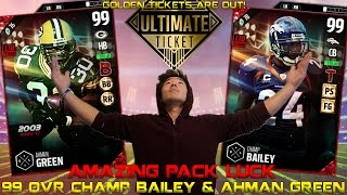 Download WE GET 99 OVR CHAMP BAILEY & GREEN! GOLDEN TICKETS ARE OUT! MADDEN 17 ULTIMATE TEAM Video