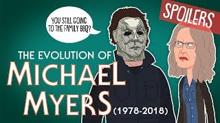 Download Evolution Of Michael Myers 1978-2018 (Animated) Video