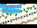 Download margenes / marcos para cuadernos | margenes bonitos | bordes para cartas | margenes para cuadernos Video