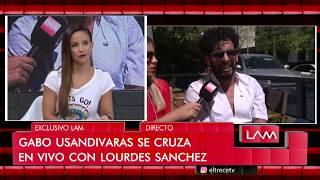 Download Gabo Usandivaras se cruzó con Lourdes Sánchez y hasta Mariana Brey se metió Video