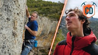Download Adam Ondra Teaches Matt To Sport Climb | Climbing Daily Ep.1150 Video