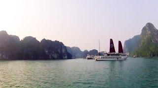 Download Cruising Ha Long Bay, Vietnam - GoPro Time-Lapse Video