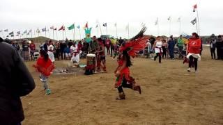 Download Aztec Dancers at Standing Rock.. Video