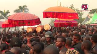 Download Asantehene Otumfuo Osei Tutu Dance at the Funeral Ground Video