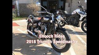 Download Chooch Rides - 2018 Triumph Speedmaster Video