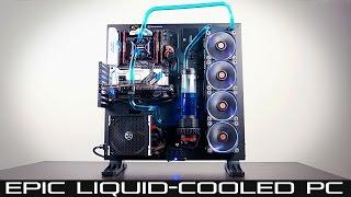 Download Epic Liquid-Cooled PC Build Guide - Intel 6800k/GTX 1080 (Part 1) Video