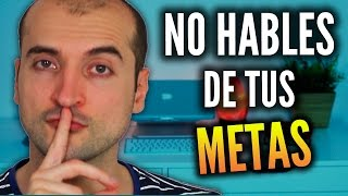 Download Hablar de Tus Metas Te Aleja de Ellas! Video