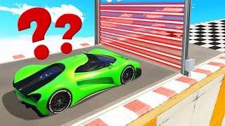 Download SUPER CAR vs. LASERS Is A Bad IDEA! (GTA 5 Races) Video
