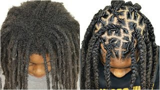 Download 1 YEAR OF NEW GROWTH HAIR RETWIST | With No Clips *Must See* Transformation Video